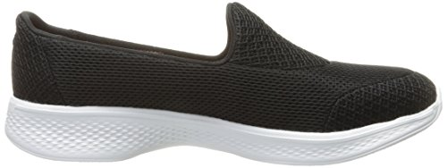 Skechers Performance Womens Go Walk 4 Propel Walking Scarpa Nera / Bianca