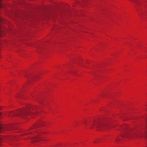 (Spectrum Red/white Wispy Stained Glass Sheet - 8