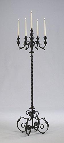 Acanthus Wrought Candelabra Candle Holder product image
