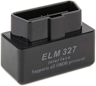Peanutaor Scanner Automatique de Voiture de Logiciel dinterface diagnostique des scanners ELM327 dinterface Mini de v/éhicule pour landro/ïde