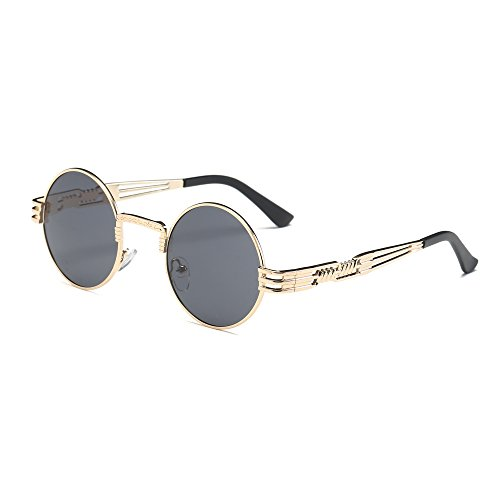 FORUU Glasses, Women Retro Round Unisex Fashion Mirror Lens Travel Sunglasses D 2019 Summer Newest Arrival On Sale Beach Holiday Party Creative Best Gifts For Husband Under 10 Dollars Free Delivery Dragon Wrap Around Sunglasses