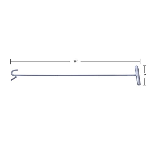 United Pacific 90013 Chrome 36'' Fifth Wheel PIN Puller W/Hook by United Pacific (Image #3)