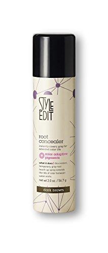 Style Edit Root Concealer, Dark Brown, 2 oz.