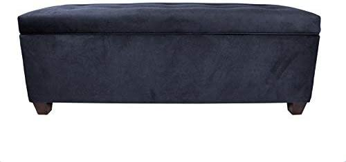 The Sole Secret Obsession Series Button Tufted Large Upholstered Lift Top Shoe Storage