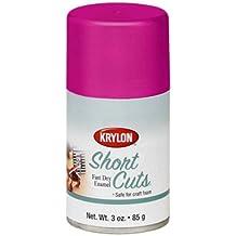 3 Oz Hot Pink Short Cuts® Spray Paint [Set of 6]