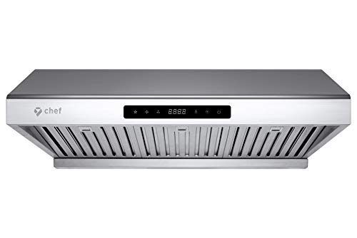 "- Chef 30"" Under Cabinet Range Hood PS10 