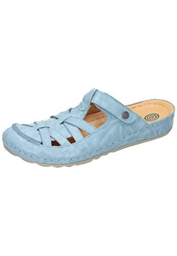 Dr. Brinkmann Womens-pantolette Blu Chiaro 701105-55 Azzurro