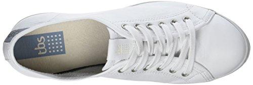 TBS Technisynthese Cerise B7, Zapatos de Cordones Derby para Mujer, Multicolor Blanc (Blanc)