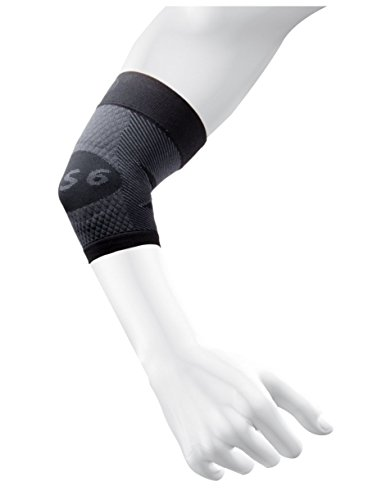 OS1st ES6 Elbow Compression Bracing Sleeve (One Sleeve) relieves Tennis or Golfers Elbow, Cubital Tunnel Syndrome, supports damaged tendons & controls forearm pain