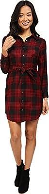 Pendleton Womens Petite Cecily Shirtdress