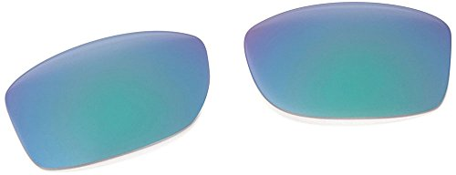 Oakley Mens Jupiter Squared Replacement Lens, Jade Iridium, One - Jupiter Squared Lenses Oakley