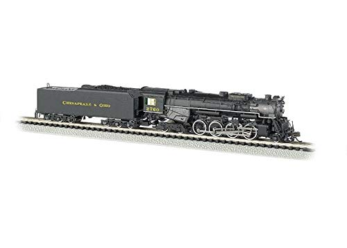 Bachmann Industries C&O Kanawha #2760 N Scale 2-8-4 for sale  Delivered anywhere in USA