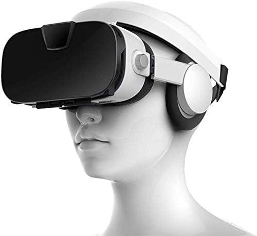 CHENGL Auricular VR 3D, vídeo estéreo 3D Glasses VR Casco de ...