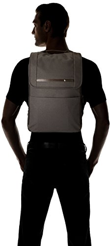 31Sif8fh7%2BL - Briggs & Riley Kinzie Street - Small Flapover Expandable Backpack, Grey, One Size