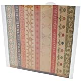 Bulk Buy: Advantus Crafts (3-Pack) Storage Studios Paper Files W/Tabbed Dividers & Labels 3/Pkg 12.75in. x 13in. CH92602
