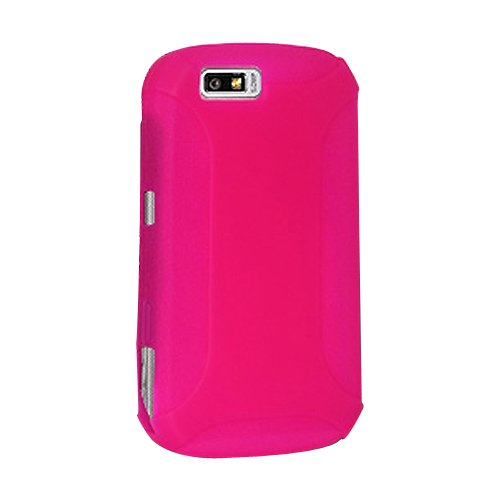 Amzer Silicone Skin Jelly Case for Motorola i1 - Hot ()