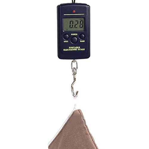 40Kg/10G Digital Fishing Hanging Luggage Weight Hook Scale Electronic Pocket Portable Mini Home