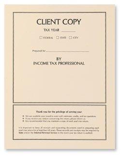 EGP Client Income Tax Return Copy Cover