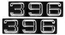 1970-72 Camaro/Firebird Emblems, Fender,