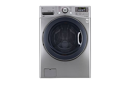 """LG WM3770HVA 27"""" Front Load Washer with 4.5 cu. ft. Capacity, in Graphite Steel"""