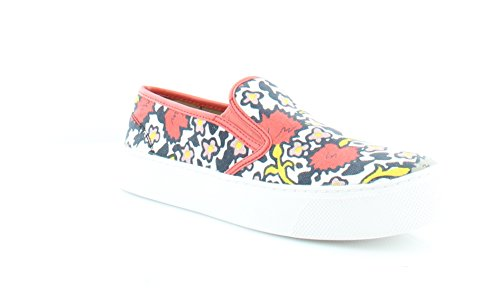 Toe Cameron Coral Coach Floral Closed Loafers Womens US Multi wpWqHFR