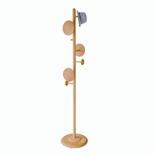 Amazon.com: SX-ZZJ Coat Racks Solid Wood Coat Rack Living ...