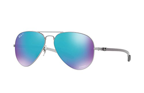 Ray-Ban-RB8317-Mirror-Chromance-Aviator-Sunglasses-58mm
