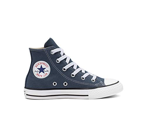 Converse Kid's Chuck Taylor All Star High Top Shoe, Navy, 2 Little Kid (4-8 Years)