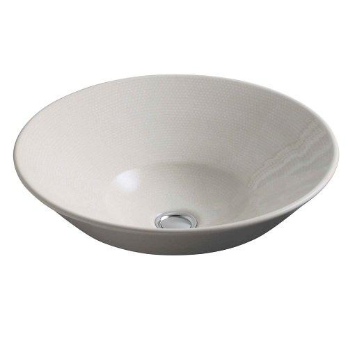 Kohler K-2200-33 CONICAL Bell Vessel or Wall-Mount Bathroom Sink Mexican Sand