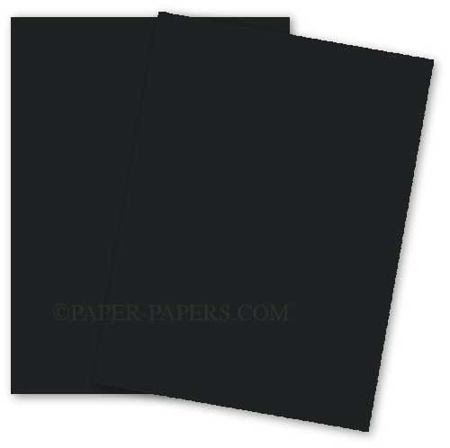 Black 11-x-17 Quality Cardstock Paper 100-pk - 216 GSM (80lb Cover) PaperPapers Ledger size Card Stock Paper - Business, Card Making, Designers, Professional and DIY Projects