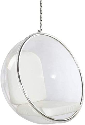 Best living room chair: Fine Mod Imports Bubble Hanging Chair