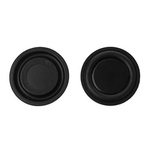 - Tebatu Subwoofer Speaker,Passive Radiator Vibration Membrane Bass Rubber Woofers 40mm