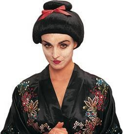 Franco American Novelty 24545-01 Geisha Girl Wig - Black ()