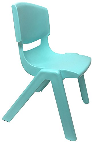 JOON Stackable Plastic Kids Learning Chairs, 20.8x12.5 Inches, The Perfect Chair for Playrooms, Schools, Daycares and Home (Baby Blue) by JOON