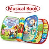 Musical Book - Learning and educational toys - Baby Toys for 1/2/3/4 years old boys & girls - Baby gift