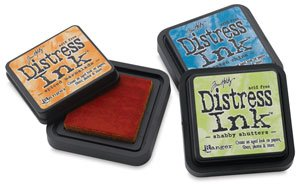 Ranger Tim Holtz Distress Ink Reinker 1/2-Ounce, Vintage Photo (Reinker Distress Ink)