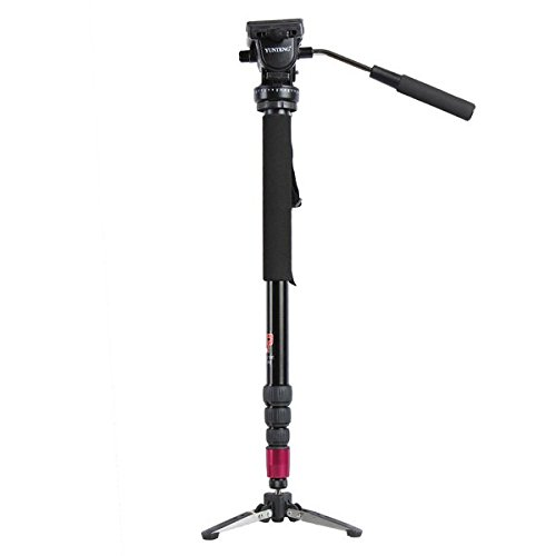 Pcyche 3202 Alloy Unipod 3 Legs Stand Base Tripod Video Monopod For DSLR Camer