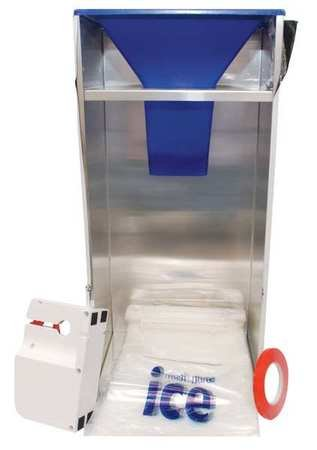 Abco Refrigeration BGS10 Ice Bagger Includes Easy Bagger, Tape Sealer and 1 Roll of Tape by Abco Refrigeration