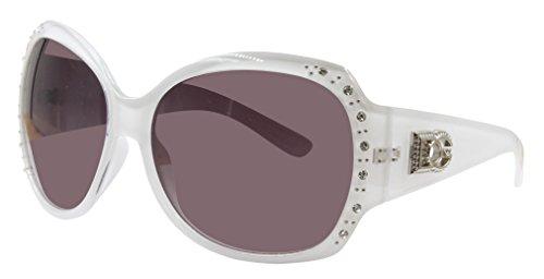 DG Eyewear Sunglasses for Women Fashion - Assorted Styles & Colors (White, - White Women For Sunglasses