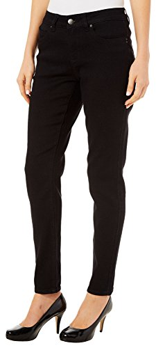Royalty by YMI Womens WBB Straight Fit Jeans 10 Black