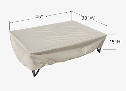 Treasure Garden Fits All Oval and Rectangle Occasional Tables - Protective Furniture Covers - CP923