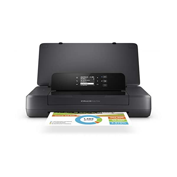 HP OfficeJet 200 Mobile Printer (Black)