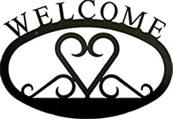Heart Welcome Sign Sm
