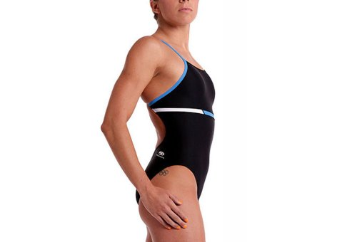 [Blueseventy Spectra Costume Black / Surf / White Sizes 22] (Spectra Costumes)