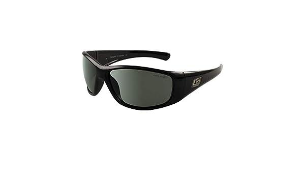 Dirty Dog 53512 Black Wolf - Gafas de Sol rectangulares (Lentes polarizadas, categoría 3), Color Negro: Amazon.es: Deportes y aire libre