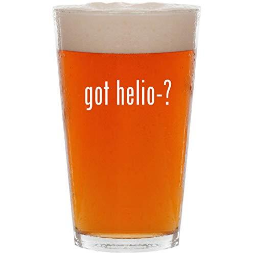 got helio-? - 16oz All Purpose Pint Beer Glass