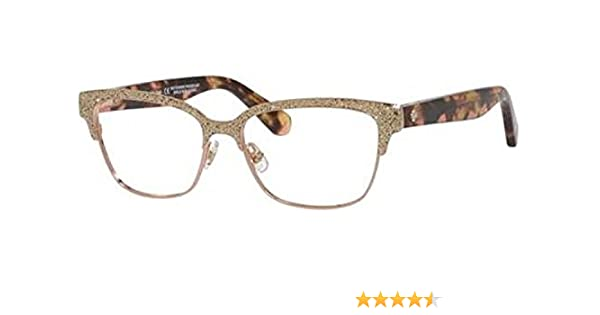 91e1dcd90136 Eyeglasses Kate Spade Ladonna 0S41 Rose Gold Pink Havana at Amazon Men s  Clothing store