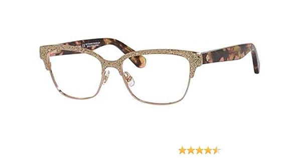 91e1dcd90136 Eyeglasses Kate Spade Ladonna 0S41 Rose Gold Pink Havana at Amazon Men s  Clothing store