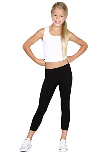 Sugarlips Girl's Leggings, Black