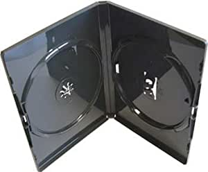 Vision Media 10 X Amaray Double Black - DVD/blu/cd Case by Vision Media